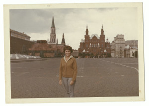 Denise - Red Square Moscow - June 1966