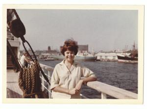 Beginning of the trip - Hong Kong - Denise